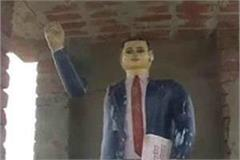 no stopping the constitution of ambedkar to break the statues