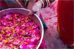women in fatehabad played holi holi a message of awareness given