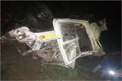 painful incident jeep falling into ditch two brothers seriously injured