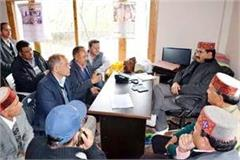 echo tourism park will be built in manali govind thakur