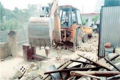 forest department again removed 7 illegal occupation in thakurdara