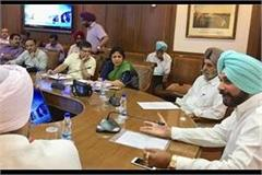 cabinet sub committee sought information from all departments