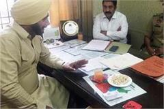 sidhu filed case against builders in the police station