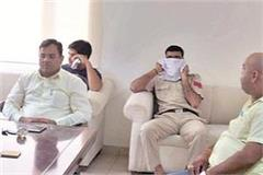 the driver of the women police station took a bribe of rs 70thousands arrested