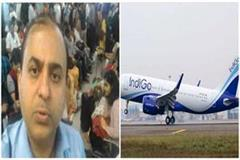 doctor to complain of mosquito bites in indigo airline heavy