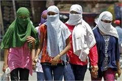 the highest heat in north india in april june this year