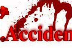 maruti car crashed in choupal 2 get painful death