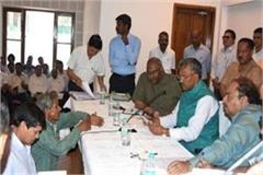 cm questions the quality of construction work in the janata darbar