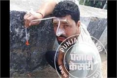the youth caught in the case of intoxication police tortured