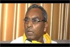 this bjp minister did support the sc st act