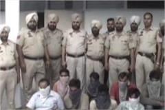 8 gangs of gang robbery of government godowns arrested