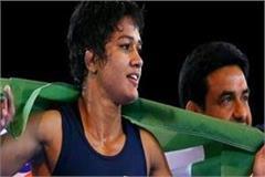 babita won silver in wrestling