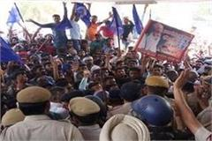 protest in kaithal