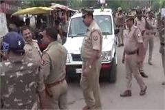 india closed flop a large number of police force deployed