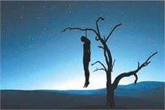 youth committed suicide by hanging trees