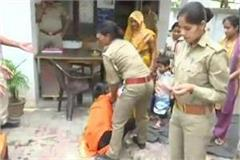 women accused of rape imposed on bjp mla attempted suicide in front of cm house