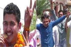 anish received a warm welcome on his return home with gold