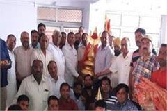 naina devi in punjab ngo offered to of gold kalash