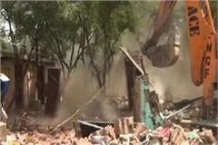 municipal corporation broke 150 houses