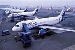 varanasi airport 56 employees of indigo airlines on strike