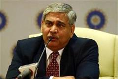chairman shashank manohar may agree to extension if elected unopposed