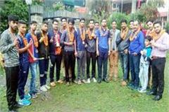 players of chamba captured 4 gold medals in haryana