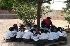 these girls are forced to read under trees