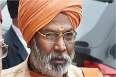 bjp mp sakshi maharaj health is bad