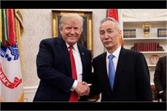 chinese vice premier meet with us president donald trump