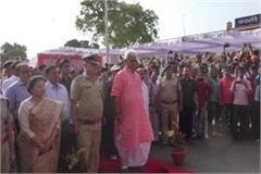 manoj sinha 4 crore public amenities inauguration