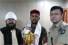 international competition in johar show two player of himachal