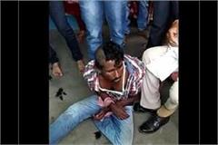 shivraj police s shameful face beating young man without knowing anything