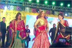 sapna chaudhri performend dance programme in kashi
