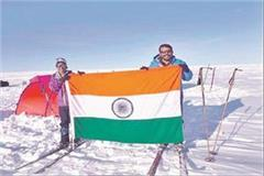 gurgaon father daughter conquered the mount everest