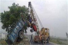 8 people killed tractor trolley overturned in sambhal