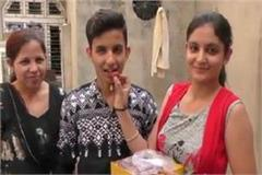 roshan named the district by getting 482 marks in the subject