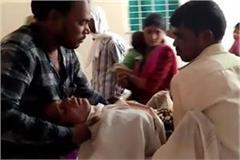 husband burnt his wife in khurai