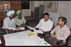 vigilance team check records at patiala mayor house