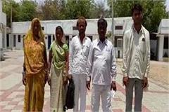 dabangs occupy houses of dalit families warns of chan