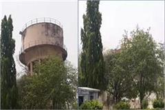 water tank broken in bhopal