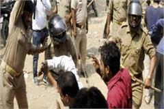 karaana bypoll police ransacked rickshaw