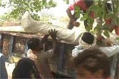 dabang did not stop at the time of demanding wages for torture on dalits