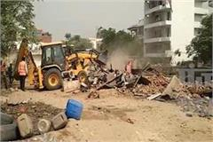 200 slums and 100 houses demolished in gururgram