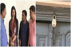 mohammed shami wife hasin jahan reached amroha