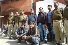 jhansi police arrested two vehicle thieves 8 motorcycles recovered