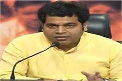 shrikant sharma s target on mayawati said the true sale of