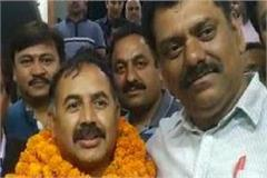 kailash federation director after becoming reached kandaghat ravi mehta