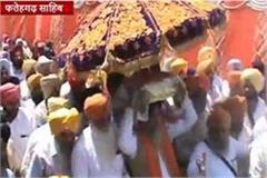 residents of village pulses majra show unity 2 gurdwara sahib