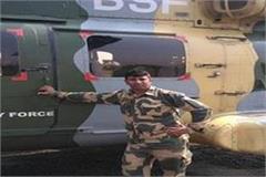 gorakhpur bsf jawan shot to death in village on notice of death