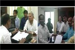 faults in evm machines sp rld and bjp complained to the election commission
